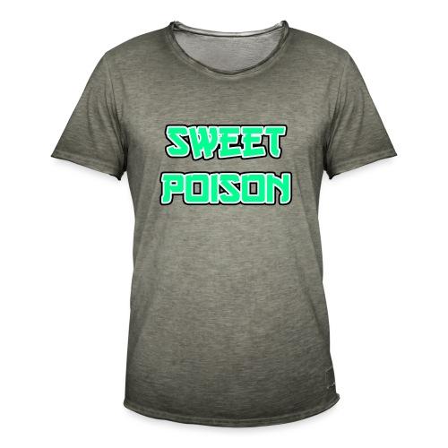 Sweet Poison - Männer Vintage T-Shirt