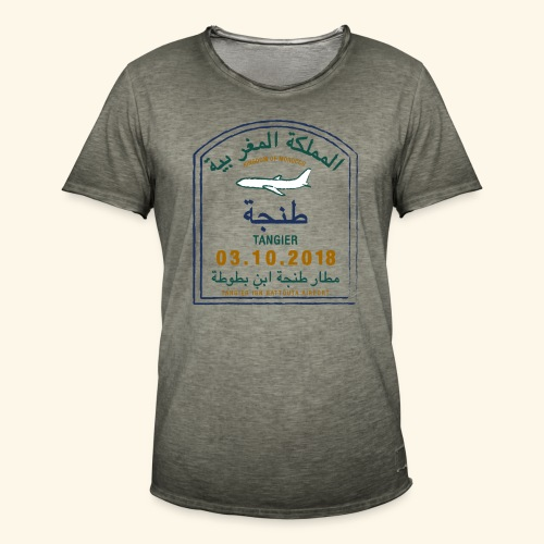 Tanger - T-shirt vintage Homme