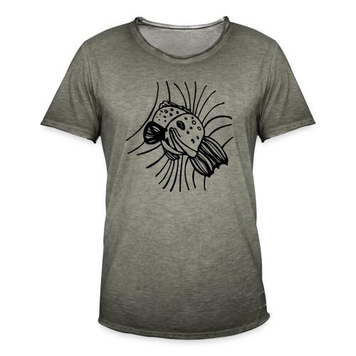 pesce1 - Maglietta vintage da uomo