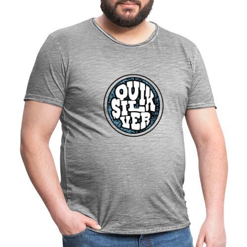 QUIKSILVER - Camiseta vintage hombre