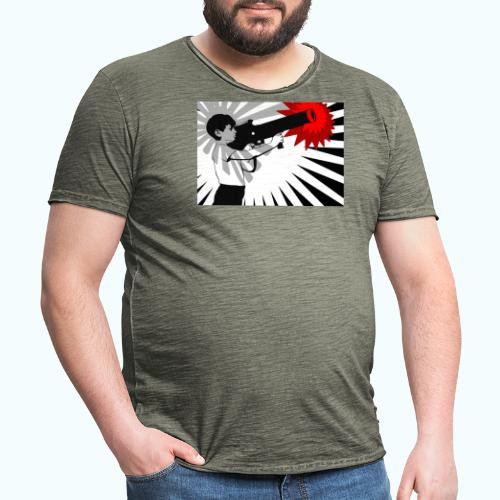Peace Please - Men's Vintage T-Shirt