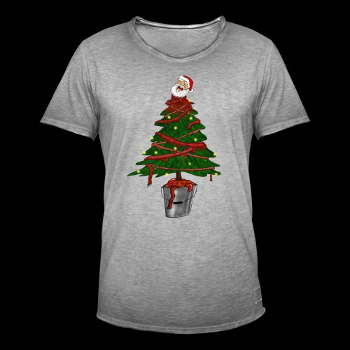 Messy Christmas - Mannen Vintage T-shirt