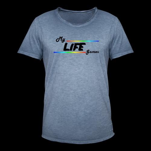 Gaming Lives - T-shirt vintage Homme