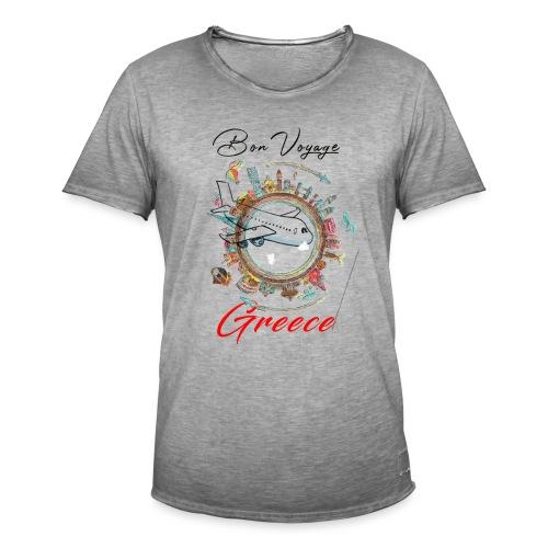 voyage Greece - Männer Vintage T-Shirt