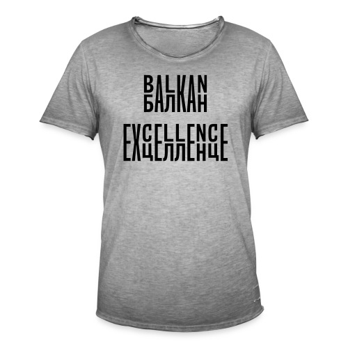 Balkan Excellence vert. - Men's Vintage T-Shirt