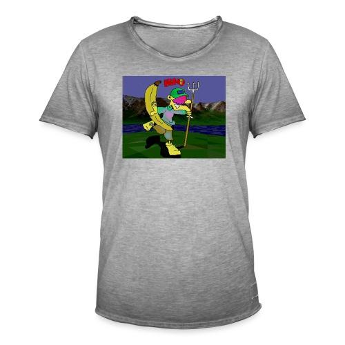 Bruno II - Vintage-T-skjorte for menn