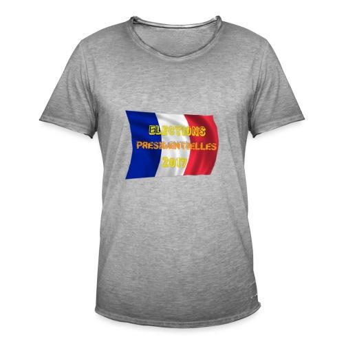 ELECTIONS 2017 - T-shirt vintage Homme