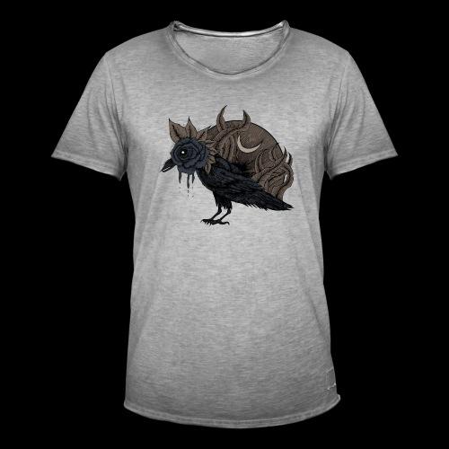 Lost corbeau - T-shirt vintage Homme