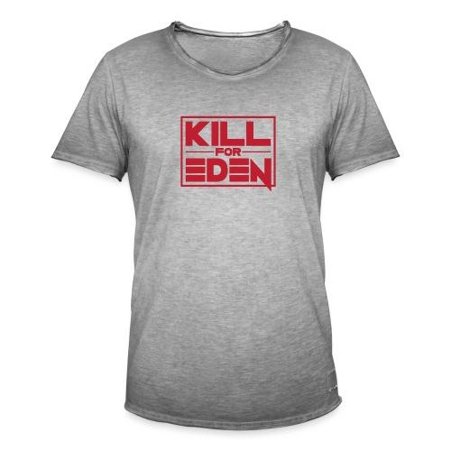 Women's Shoulder-Free Tank Top - Men's Vintage T-Shirt