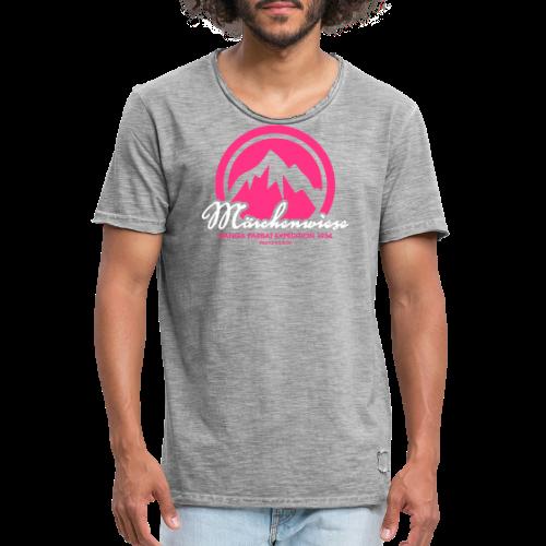 Märchenwiese - Männer Vintage T-Shirt