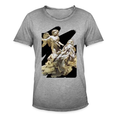 Éxtasis de Santa teresa - Camiseta vintage hombre