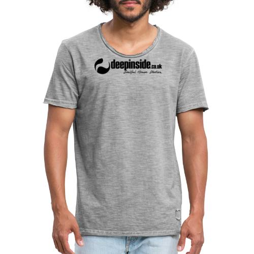 DEEPINSIDE Soulful House Station (Legendary logo) - Men's Vintage T-Shirt