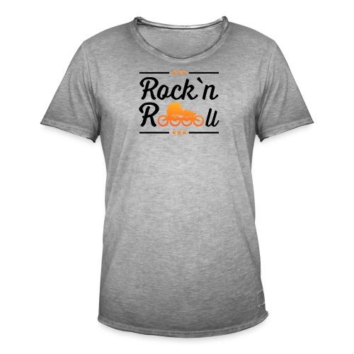 Rockn Roll Faerbig - Männer Vintage T-Shirt