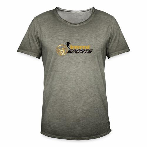 Skifahrer - Männer Vintage T-Shirt