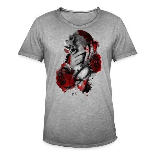 skullgirl - Camiseta vintage hombre