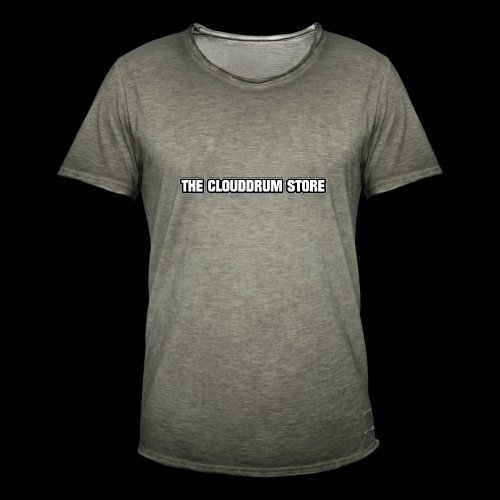 THE CLOUDDRUM STORE - Mannen Vintage T-shirt
