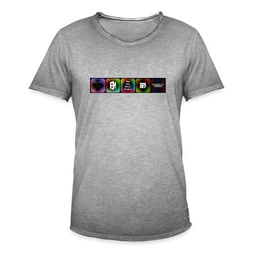 5 Logos - Men's Vintage T-Shirt