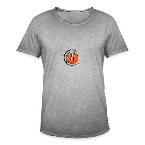 que le logo h orange - T-shirt vintage Homme