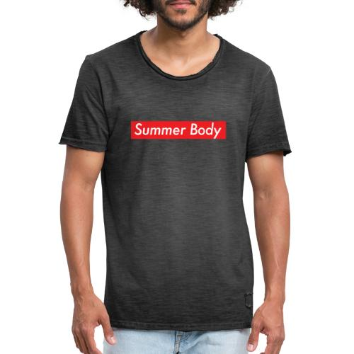 Summer Body - T-shirt vintage Homme