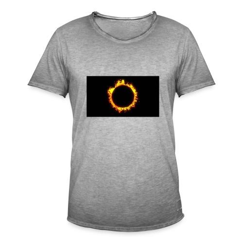 Flames - Herre vintage T-shirt