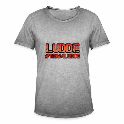 TEAMLUDDE MOTIV - Vintage-T-shirt herr