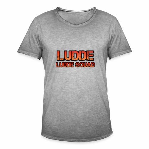 LUDDE SQUAD - Vintage-T-shirt herr