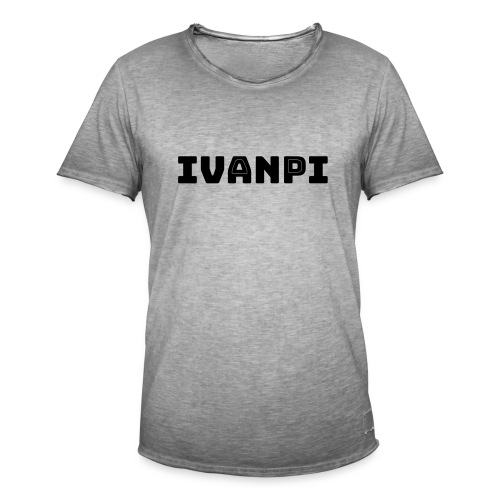 IvanPi - Vintage-T-shirt herr