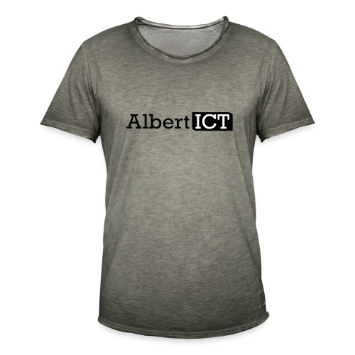 Logo_AlbertICT - Mannen Vintage T-shirt