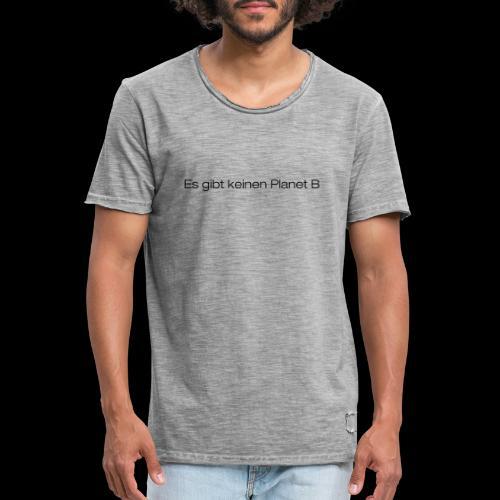 prowin PlanB4 - Männer Vintage T-Shirt