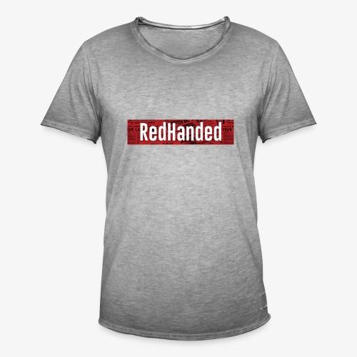 RedHanded - Men's Vintage T-Shirt