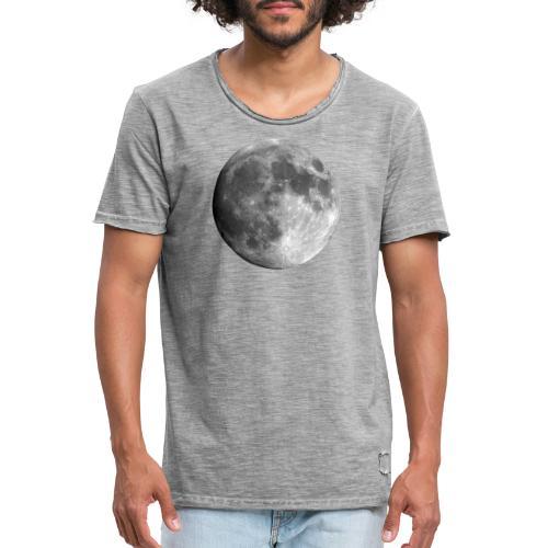 FULL MOON - Männer Vintage T-Shirt
