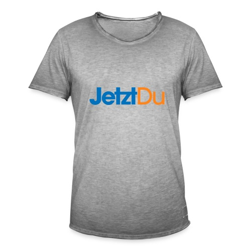 JetztDuLogo ArtWork2 - Männer Vintage T-Shirt