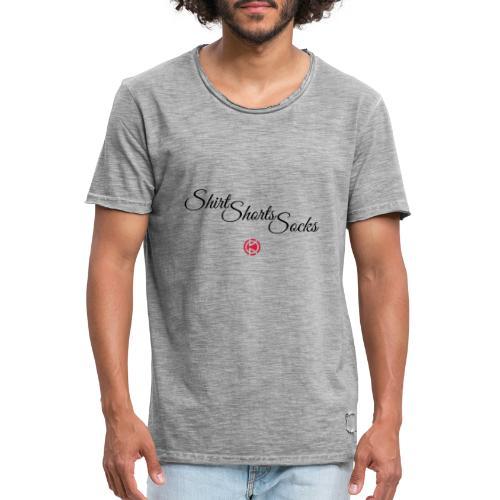 Shirt, Shorts, Socks - Men's Vintage T-Shirt