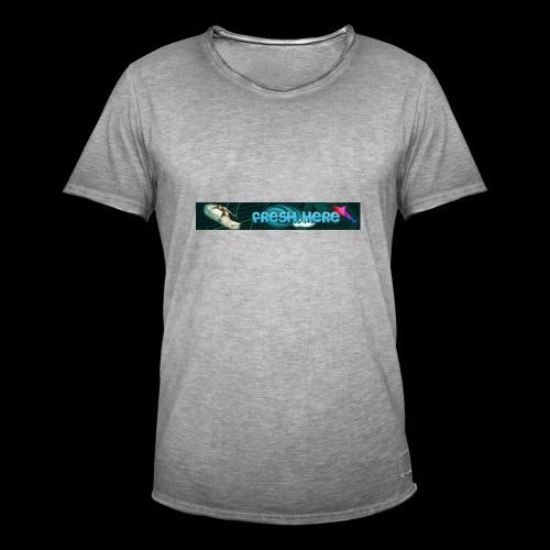 fresh here - Camiseta vintage hombre