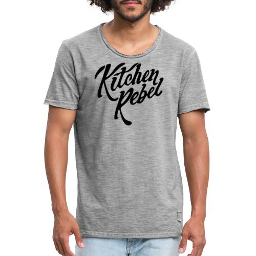 Kitchen Rebel - Men's Vintage T-Shirt