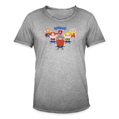 Viking Friends - Men's Vintage T-Shirt