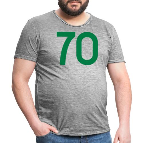 Football 70 - Men's Vintage T-Shirt