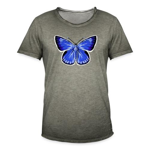 vlinder2_d - Mannen Vintage T-shirt