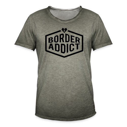 Border Addict - T-shirt vintage Homme