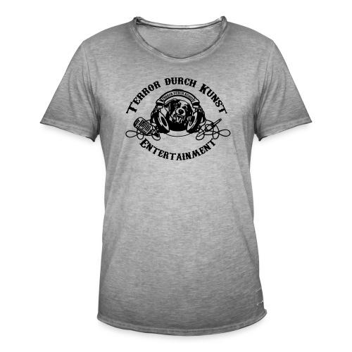 tdklogoschwarz 3 - Männer Vintage T-Shirt