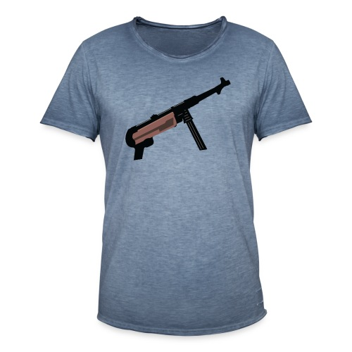 Mp40 german gun maschinenpistole 40 - Men's Vintage T-Shirt