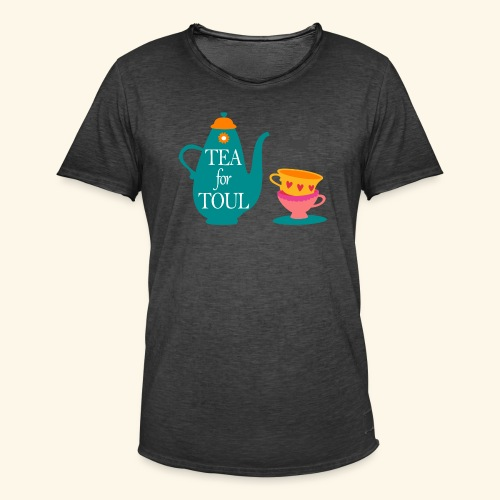 Tea for Toul - T-shirt vintage Homme