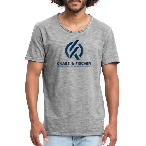 Krasses Design - Männer Vintage T-Shirt