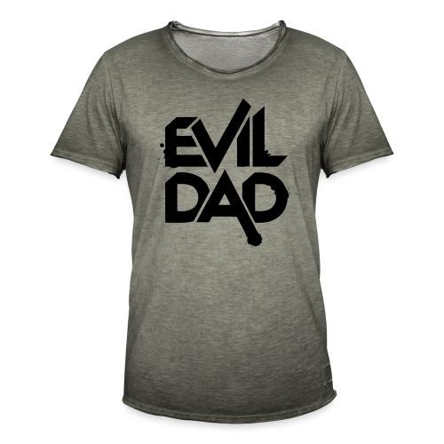 Evildad - Mannen Vintage T-shirt