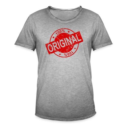 100 percent original - Men's Vintage T-Shirt
