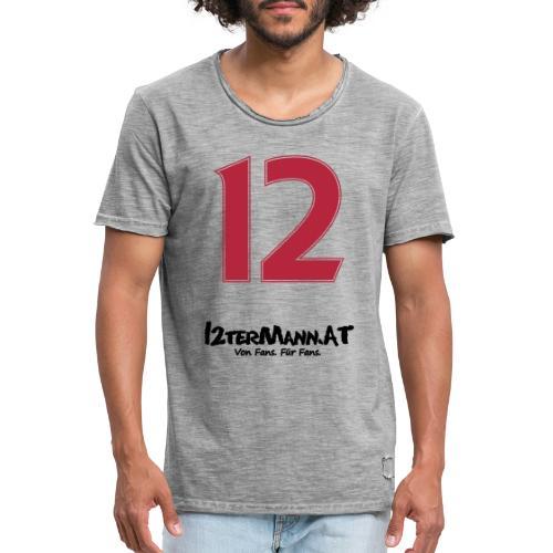 12termann mitfans - Männer Vintage T-Shirt