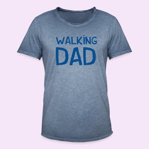 Vierdaagse Nijmegen - Walking Dad BLUE - Mannen Vintage T-shirt