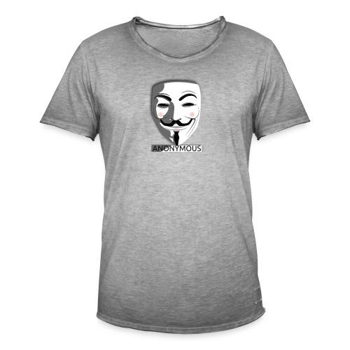 Anonymous - Men's Vintage T-Shirt