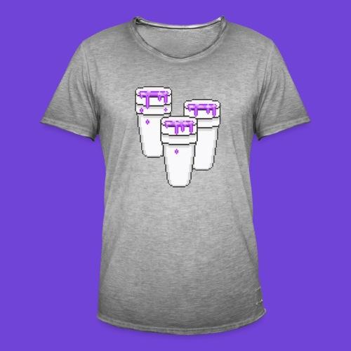 Purple - Maglietta vintage da uomo