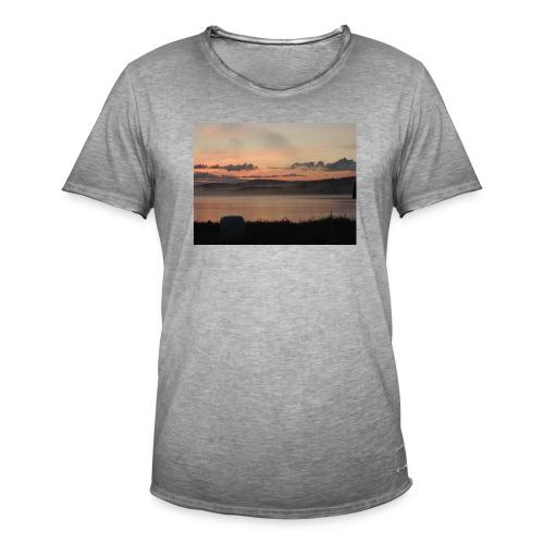 Himmel i Tornedalen - Vintage-T-shirt herr